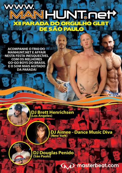 Manhunt Parada Gay São Paulo